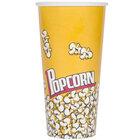 Carnival King 24 oz. Popcorn Cup - 1000 / Case