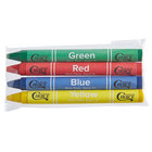 Choice 4 Pack Kids' Restaurant Crayons in Cello Wrap - 100/Pack