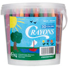 Choice 150 Count Bulk School Crayon Bucket
