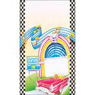 8 1/2 inch x 14 inch Menu Paper - Retro Themed Jukebox Design Cover - 100/Pack