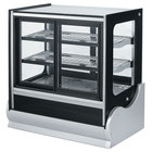 Vollrath 40887 48 inch Cubed Refrigerated Display Cabinet with Front Access