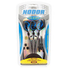 Nodor STP600 Embossed Steel Tip Darts with Case - 3/Pack