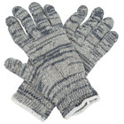 Medium Weight Multi-Color Polyester / Cotton Work Gloves - Extra Large - Pair - 12/Pack