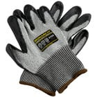 Monarch Gray Engineered Fiber Cut Resistant Gloves with Black HCT Nitrile Palm Coating - Medium - Pair