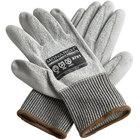 Monarch Gray Engineered Fiber Cut Resistant Gloves with Gray Polyurethane Palm Coating - Medium - Pair