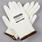 Monarch White Engineered Fiber Cut Resistant Gloves with White Polyurethane Palm Coating - Medium - Pair