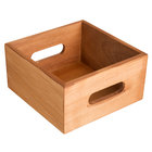 Core Brown Wooden Display Crate / Condiment Caddy