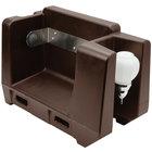 Cambro HWAPR131 Dark Brown Hand Washing Station - Roll Towel Dispenser
