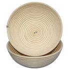 Matfer Bourgeat 118506 10 1/4 inch Willow Round Banneton Proofing Basket
