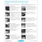 TurboChef DOC-1139 Daily Sota Oven Cleaning Poster