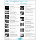TurboChef DOC-1494-1 Daily Bullet Oven Cleaning Poster