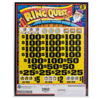 Ring Quest 5 Window Pull Tab Tickets - 2960 Tickets per Deal - Total Payout: $2208