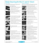 TurboChef DOC-1051 Daily I5 and I3 Oven Cleaning Poster