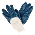 Smooth Supported Palm Coated Nitrile Gloves with Interlock Lining - Extra Large - Pair - 12/Pack