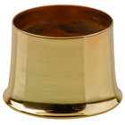 Sterno Products 85480 - 3 13/16 inch x 2 11/16 inch Weathered Brass Metal Cocktail Lamp Base