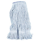 Continental Wilen A11412 24 oz. Blue and White Blend Loop End Finish Mop Head with 1 1/4
