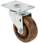 Channel CPS54H 4 inch High-Temp Swivel Plate Caster