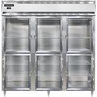 Continental DL3F-GD-HD 78 inch Half Glass Door Reach-In Freezer