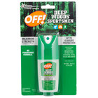 SC Johnson OFF!® 611090 1 oz. Deep Woods® Sportsmen Insect Repellent I - 12/Case