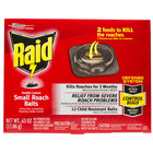 SC Johnson Raid® 619856 Double Control 12-Count Small Roach Baits   - 6/Case