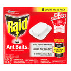 SC Johnson Raid® 697329 8-Count Ant Baits   - 12/Case