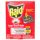 SC Johnson Raid® 619862 Double Control 8-Count Large Roach Baits - 6/Case