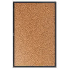 Quartet 2305B Classic 36 inch x 60 inch Cork Board with Black Aluminum Frame