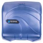 San Jamar T1759TBL Oceans Ultrafold C-Fold / Multifold Towel Dispenser - Arctic Blue