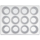 12 Cup Aluminized Steel 6 oz. Muffin Pan