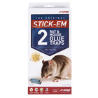 JT Eaton 155N Stick-Em Large Rat and Mouse Glue Trap 2 / Pack