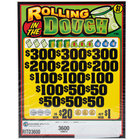 Rolling in the Dough 5 Window Pull Tab Tickets - 3600 Tickets per Deal - Total Payout: $2887