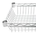 Regency 14 inch x 48 inch NSF Chrome Shelf Basket