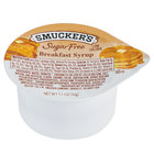 Smucker's Sugar Free Breakfast Syrup 1.1 oz. Portion Cup - 100/Case