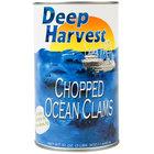 51 oz. Chopped Ocean Clams - 12/Case