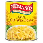 Furmano's #10 Can Fancy Cut Wax Beans   - 6/Case