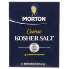 Morton 3 lb. Bulk Coarse Kosher Salt