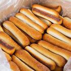 Dutch Country Foods Unsalted Soft Pretzel Sticks - 96/Case