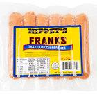 Denver Meats Hippey's 1 lb. Pack 6/1 Size Regular Franks - 12/Case