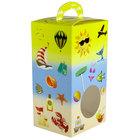 1-Piece 1 lb. Beach Window Candy Box 3 1/2 inch X 3 inch X 6 3/8 inch 250/Case