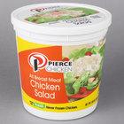 Pierce Chicken 5 lb. Chicken Salad - 2/Case