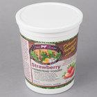 Farmer Rudolph's 32 oz. Strawberry Farmstead Yogurt - 6/Case