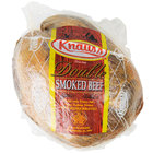 Knauss Foods 6 Ib. Double Smoked Dried Beef Deli Knuckle