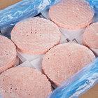 Devault Foods 4 oz. 75/25 Beef Burger - 48/Case