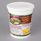 Farmer Rudolph's 32 oz. Banana Cream Farmstead Yogurt - 6/Case
