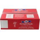 Devault Foods 2 oz. 80/20 Beef Burger   - 80/Case