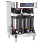 Bunn 51200.0102 ICB Infusion Series Stainless Steel Twin Automatic Coffee Brewer - 120/208V, 6000W