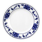 Thunder Group 1012TB Lotus 11 3/4 inch Round Melamine Plate - 12/Pack