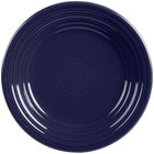 Homer Laughlin 465105 Fiesta Cobalt Blue 9 inch Luncheon Plate - 12/Case