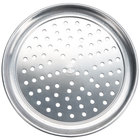 American Metalcraft HATP19P 19 inch Perforated Heavy Weight Aluminum Wide Rim Pizza Pan