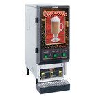 Bunn SET00.0198 FMD-3 SS Fresh Mix Cappuccino / Espresso Machine Cafe Latte Dispenser with 3 Hoppers - 120V
